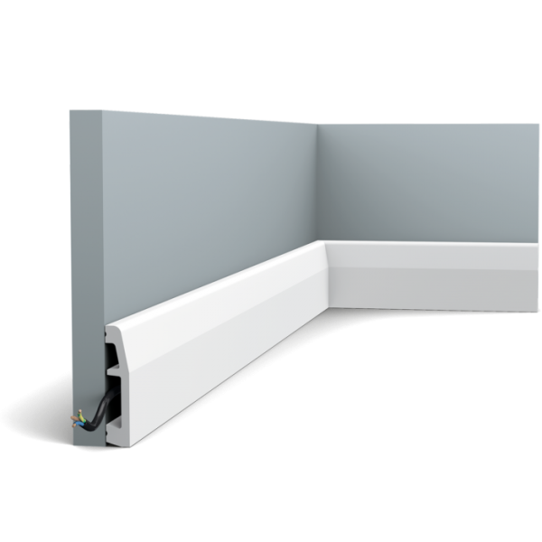 Sockelleiste SX125 ORAC DECOR Duropolymer / AXXENT