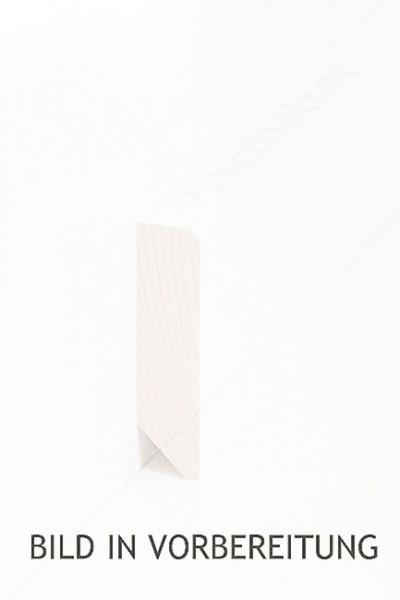 Holzsockelleiste, Oberkante rechteckig 16x60mm Kiefer roh