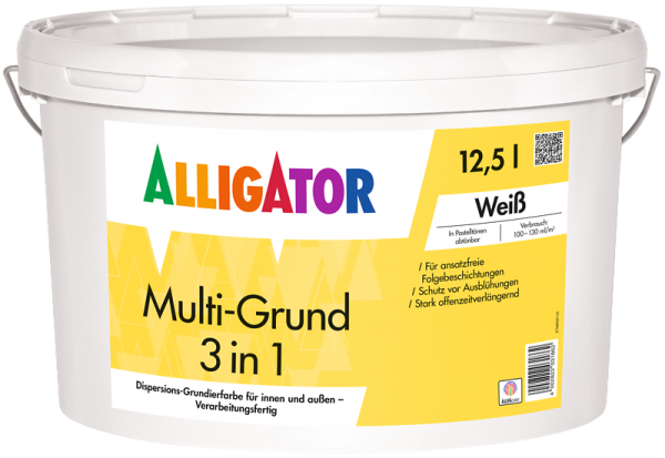Alligator Multi-Grund 3 in 1 LEF