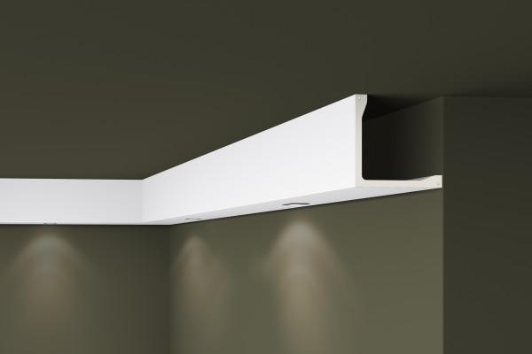 Lichtleiste L5 ARSTYL® für direkte Beleuchtung Stuckleiste