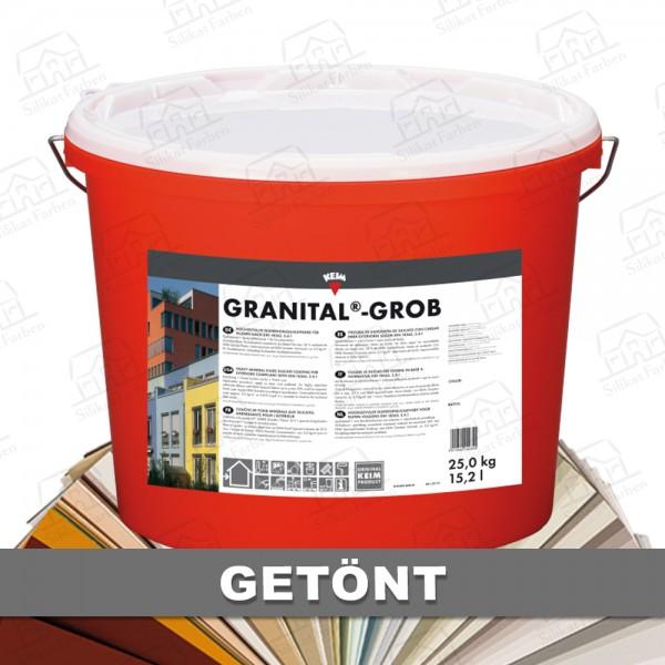 KEIM Granital-Grob getönt