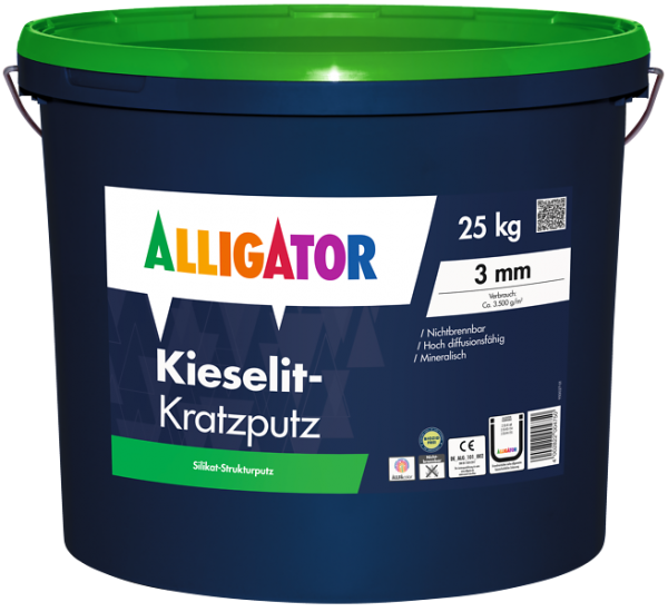 Alligator Kieselit-Kratzputz