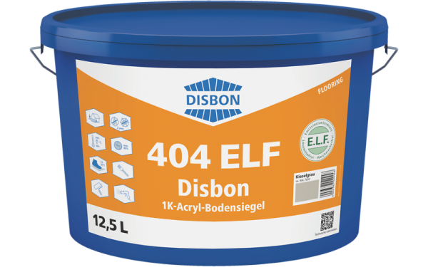 Disbon 404 ELF 1K-Acryl-Bodensiegel 7,5l RAL 7016