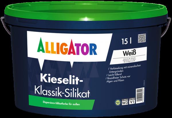 Alligator Kieselit-Klassik-Silikat weiß