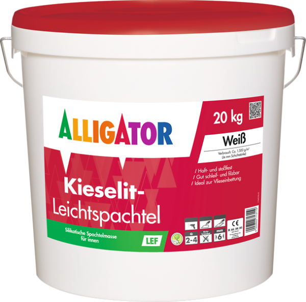 Alligator Kieselit-Leichtspachtel LEF