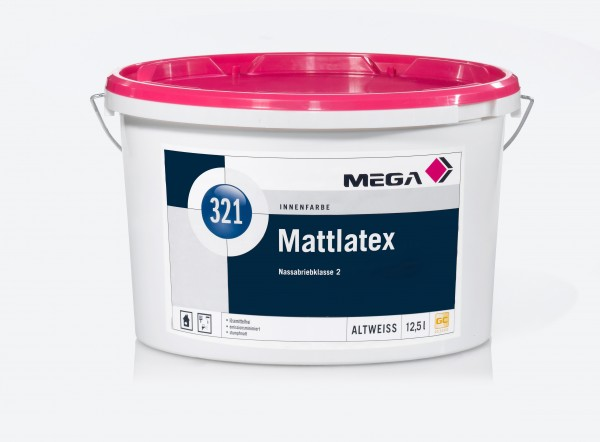 MEGA 321 Mattlatex