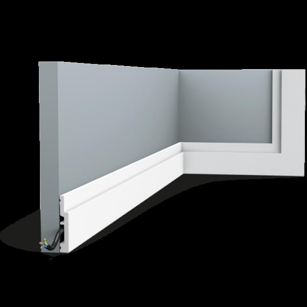 Sockelleiste SX187 High Line ORAC DECOR Duropolymer / AXXENT