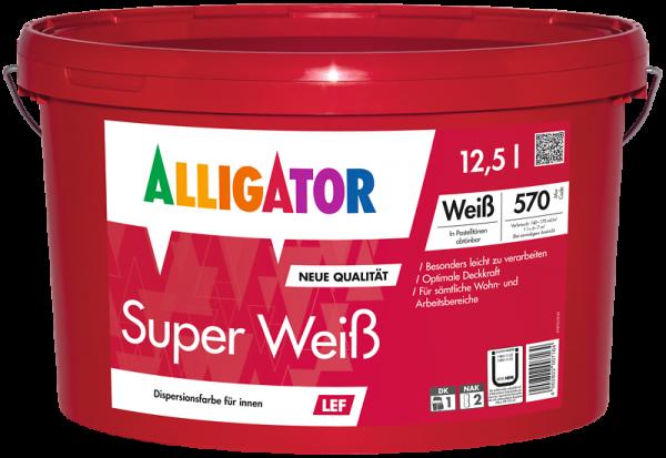 Alligator Super Weiß LEF Weiß