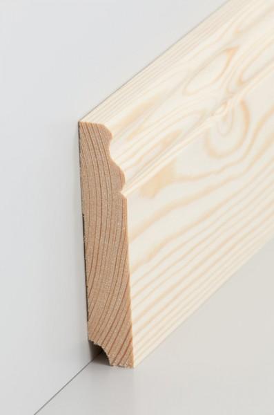 Hamburgerleiste Massivholz 19x100mm Kiefer roh