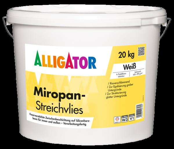 Alligator Miropan-Streichvlies
