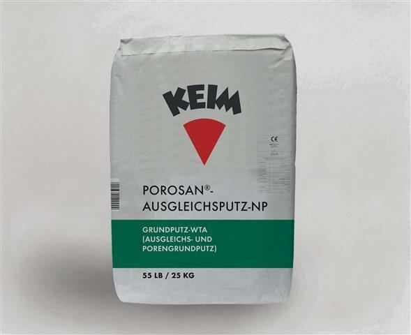 KEIM Porosan®-Ausgleichsputz-NP