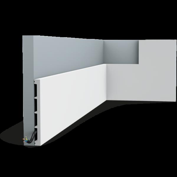 Sockelleiste SX168 SQUARE ORAC DECOR Duropolymer / AXXENT