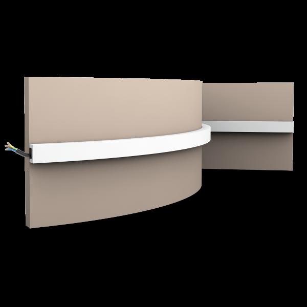 Wandleiste CX190F U-PROFILE ORAC DECOR Duropolymer / AXXENT